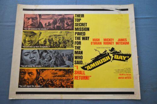"""Vintage Movie Poster, """"Ambush Bay"""" (1966)"""