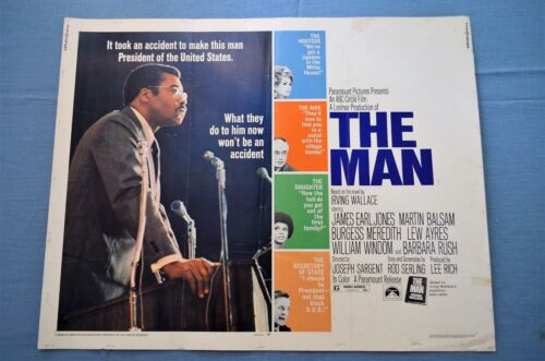 "Vintage Movie Poster,  ""The Man"" (1972)"