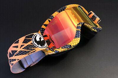 Dragon MDX2 MX Brille Rausverkauf reduziert von 99€ Nettle Red Ion