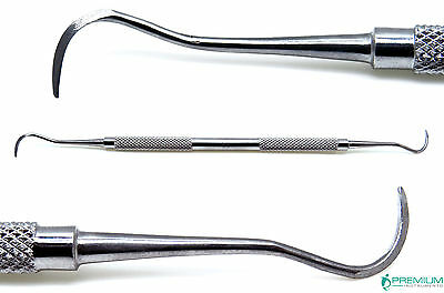 Dental Periodontal Sickle Scaler H6h7 Stainless Steel Double Ended Instruments