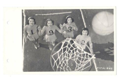 The Big Broadcast Of 1938 5x8 Original CANDID Women Basketball KEYBOOK