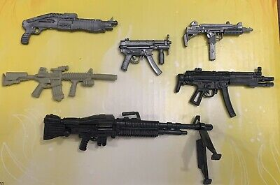 1:12 Scale Mix Weapons Shotgun Rifles & Machine Guns for 6' Marvel Legends