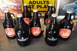 7 Craft Beer Growlers Bottles Oast House & Silversmith Brewing