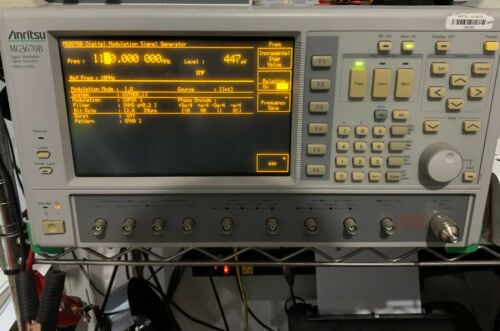 Anritsu MG3670B Digital Modulation Signal Generator (300kHz-2.25GHz)