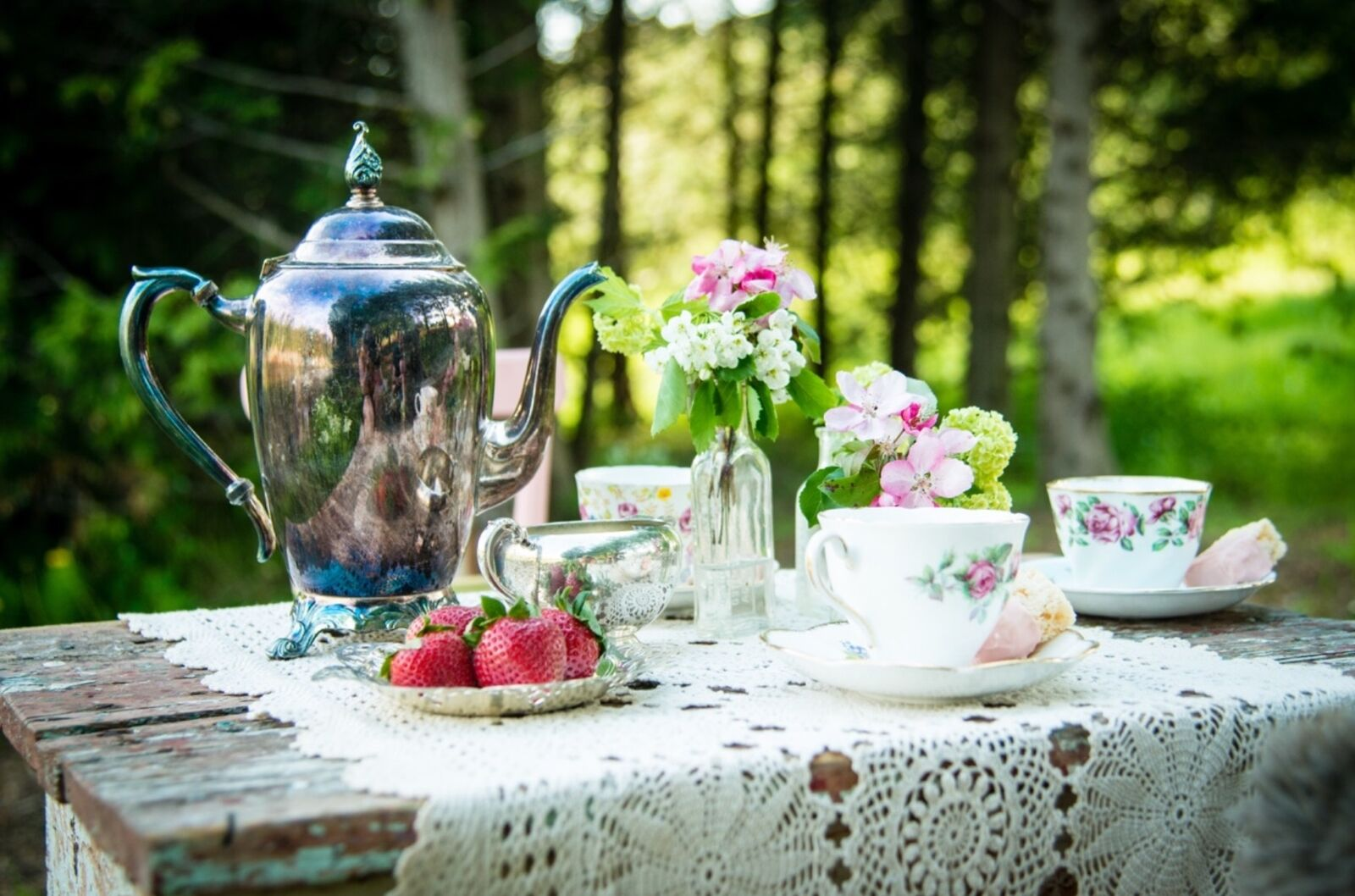 TEA FOR TWO AND MORE