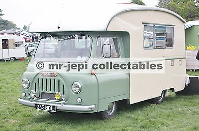 "Morris   Camper Van  Photo  6""  x  4"""