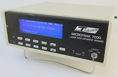 Mti Instruments Microtrak 7000 Laser Displacement Sensor Sensor Not Included