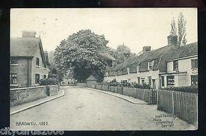 Essex   BRADWELL Good village scene + Shop     Fred  Spalding  (Bradwell P/M)