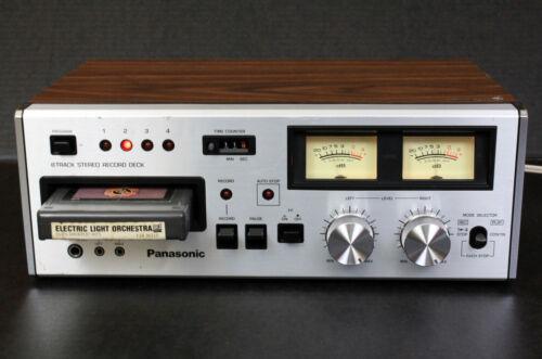 Panasonic RS-808 Vintage Stereo 8 Track Tape Deck. Japan. REFURBISHED. Warranty