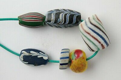 Small selection of Venetian trade beads