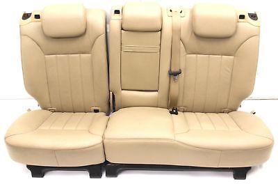 Mercedes W164 ML Sitz hinten Ledersitz beige Rücksitzbank Rücksitz Rückbank