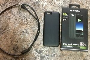 iPhone 6/6s ** Mophie 60% juice pack reserve case  ** $30