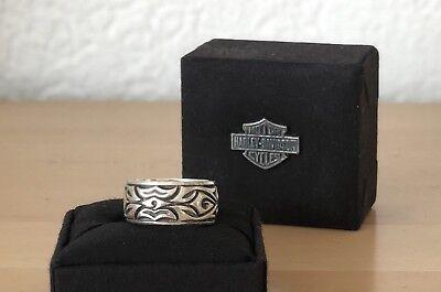 Harley Davidson Carved Skull Ring MOD #HDR0281 10