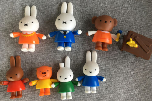 Miffy s Adventures Big And Small Miffy Friends 8 Piece Figure Set - $8.00