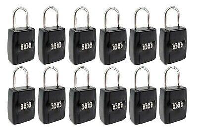 12-pack Realtor Real Estate Key Lockbox Set Your Own 4 Digit Combination