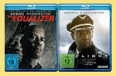 ••••• The Equalizer + Flight (Denzel Washington) (2 Blu-rays)