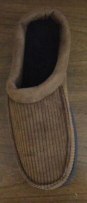 Dearfoams Chestnut Men's Clogs/Slippers Size M(9-10) or XL(13-14)