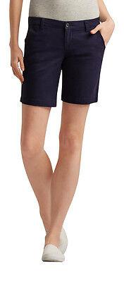NEW Aeropostale Navy Blue Khaki Bermuda Twill Shorts 9