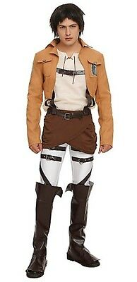 Attack on Titan Eren Jaeger Scout Regiment Uniform Halloween Japanese anime