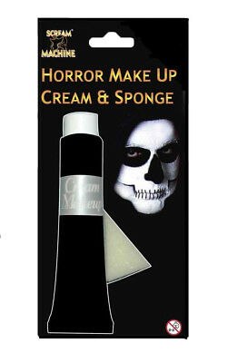 HALLOWEEN COLOURED FACE & BODY PAINT HYPOALLERGENIC MAKE UP FANCY DRESS COSTUME  - Face Paint Hypoallergenic