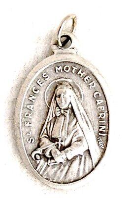ST MOTHER FRANCES XAVIER CABRINI Catholic Saint Medal Patron immigrants orphans
