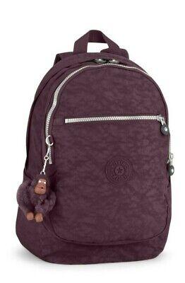 Kipling CLAS CHALLENGER Medium Backpack - Dark Auberg
