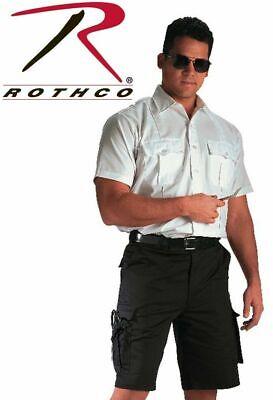 7 Tactical Shorts (Black ROTHCO 78231 MENS Tactical Shorts 7 Pocket Police EMS & EMT Uniform S-2X)