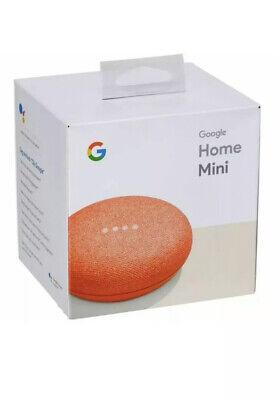Google Home Mini Smart Assistant - GA00217-UK - Coral