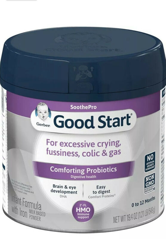 2 NEW Gerber SoothePro Good Start Comforting Probiotics Infant Powder Formula