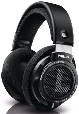 Philips SHP9500S HiFi Precision Stereo Over the Ear Headphones - Black