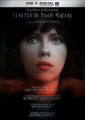 Under The Skin  Dvd   Digital   New  Free Shipping