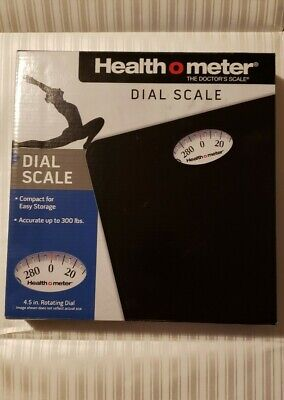 Health O Meter Floor Dial Scale up to 300 lbs(Brand New)
