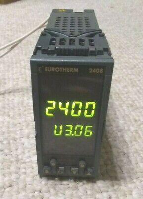 Eurotherm 2408 P4 Vh Lr Lr Temperature Process Controller