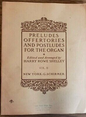 Organ - Preludes Postludes Offertories