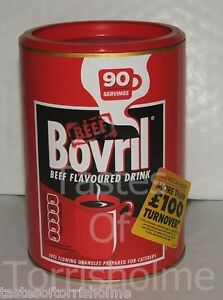 450g Resealable Tub Catering Size Bovril Beef Granules Instant Hot Drink