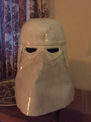 Star Wars TESB Raw Snowtrooper Helmet Prop Replica Kit DIY