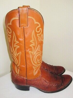 NICE Mens Cowboy Boots MADE IN USA By 'Justin' - Great!!