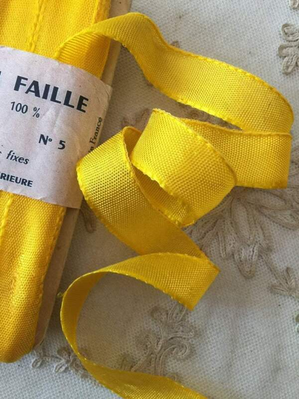 Vintage Ribbon by the Roll - French Tissue Ribbon