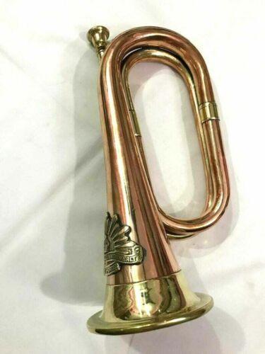 Vintage Bugle Brass & Copper Instruments Australian Military Forces