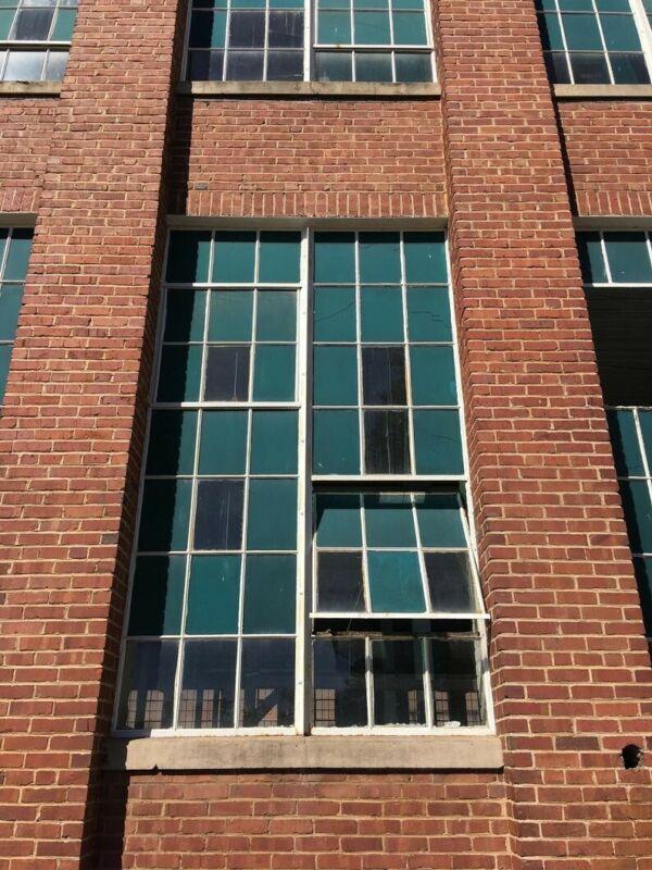 Reclaimed Vintage Industrial Factory Steel Casement Window