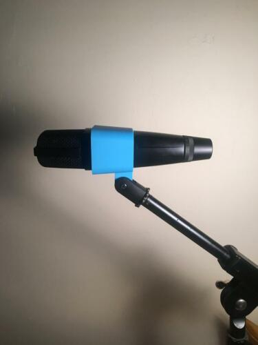 3d Printed MD421 Replacement Mic Clip