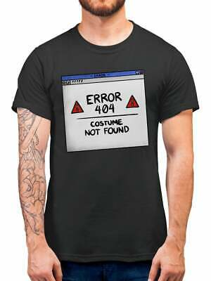 Simple Kid Halloween Costumes (Error 404 Costume Not Found Halloween T Shirt Fancy Dress Party Simple)