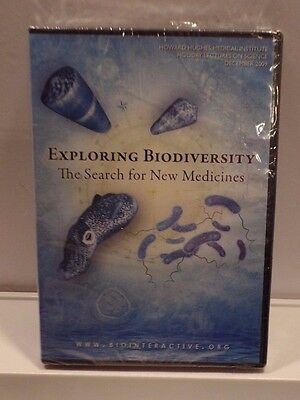 New Exploring Biodiversity The Search For New Medicines Dvd Hhmi   Nova 2 Disc