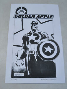 The-Hero-Initiative-Captain-America-Tim-Sale-Limited-Print-Poster-Numbered