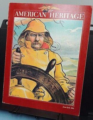 American Heritage   June   July 1981    Guiteau Kills Garfield  Uranium  Tr  Etc