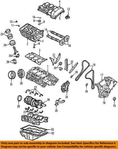 FORD OEM-Valve Cover Gasket YF1Z6584BA