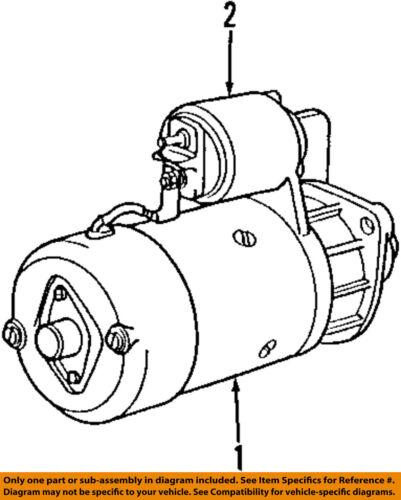 Bmw Oem 06 11 Z4 Starter Motor 12412354701