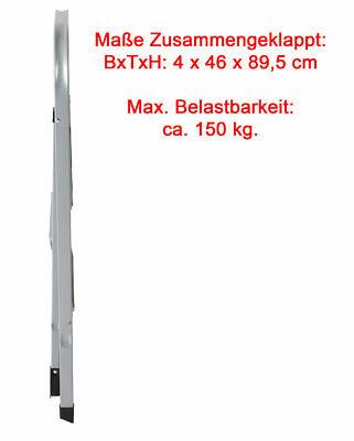Trittleiter Anti-Rutsch 2 Stufen bis 150 kg Leiter HAUSHALTSLEITER Klapptritt