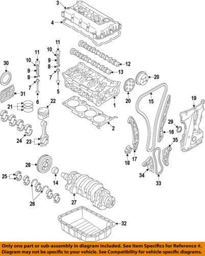 HYUNDAI OEM 06-15 Sonata-Engine Timing Chain Guide 2443125001 | eBayeBay