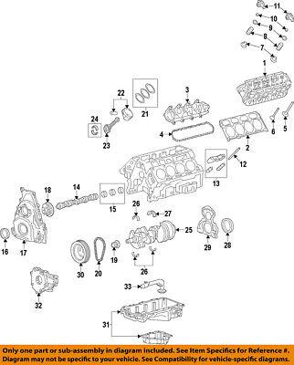 GM OEM-Camshaft Cam 12629512